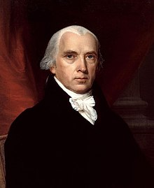 James Madison 4th President of the United States