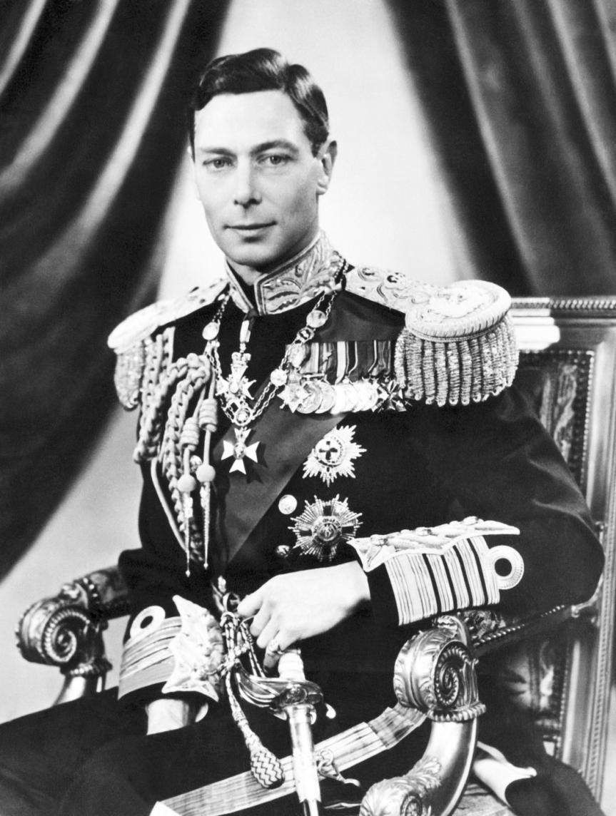 King Albert Frederick Arthur George Windsor known as George VI, 10cousin