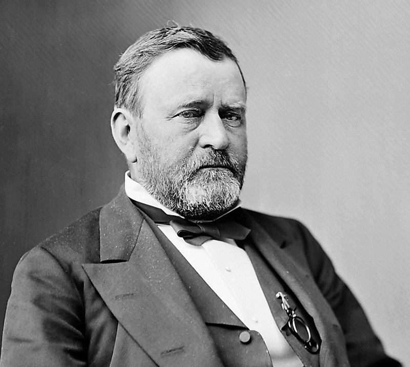 President Ulysses S. Grant the 18th president of the United States, 23rd cousin 2x removed.