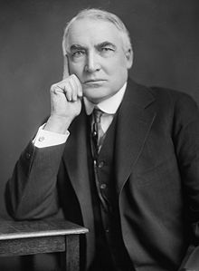 President Warren G. Harding, the 29th President of the United States, 17th cousin 3x removed.