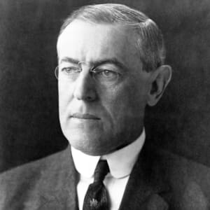 President Woodrow Wilson, 28th President of the United States, 13th cousin 4x removed